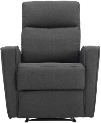 Durian Fabric Manual Recliners(Finish Color - Charcoal Grey)
