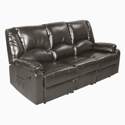 Godrej Interio RHINE RECL3ST SL BURG- ADVANCE Solid Wood Manual Recliners