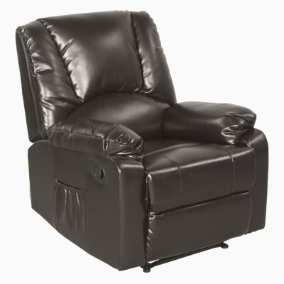 Godrej Interio RHINE RECL1ST SL BURG- ADVANCE Solid Wood Manual Recliners