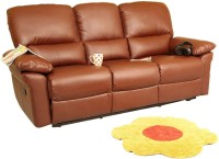 Recliners India Leatherette Manual Recliners(Finish Color - Two Tone Tan)