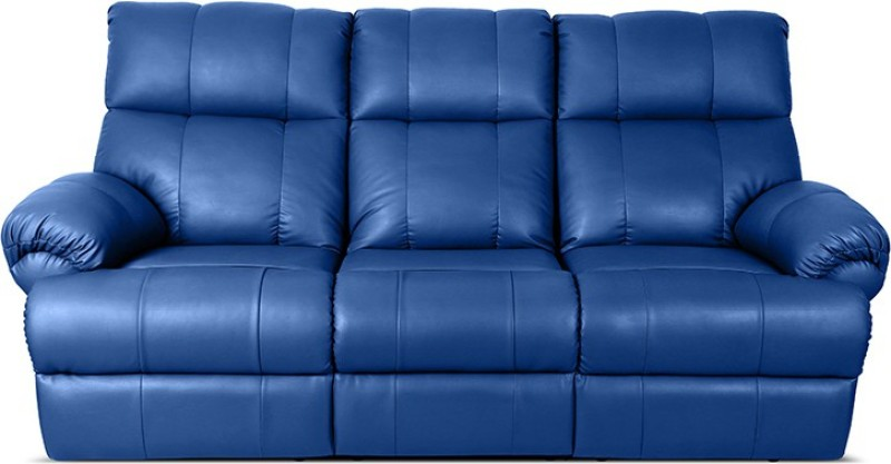 Little Nap Recliners Leatherette Manual Recliners(Finish Color - Blue)