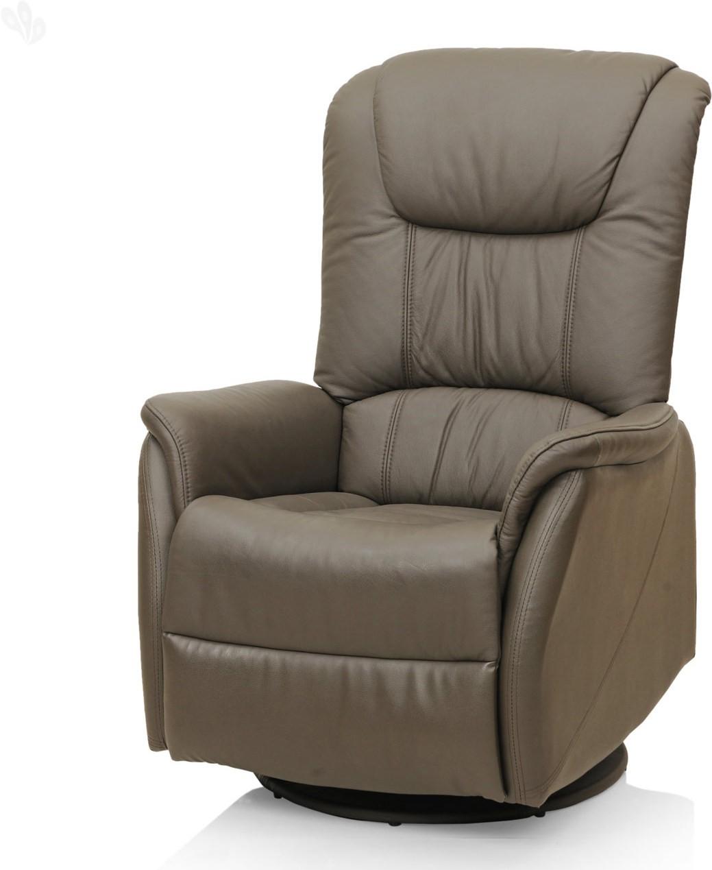 View RoyalOak Leisure Leather Manual Recliners(Finish Color - Grey) Furniture (RoyalOak)