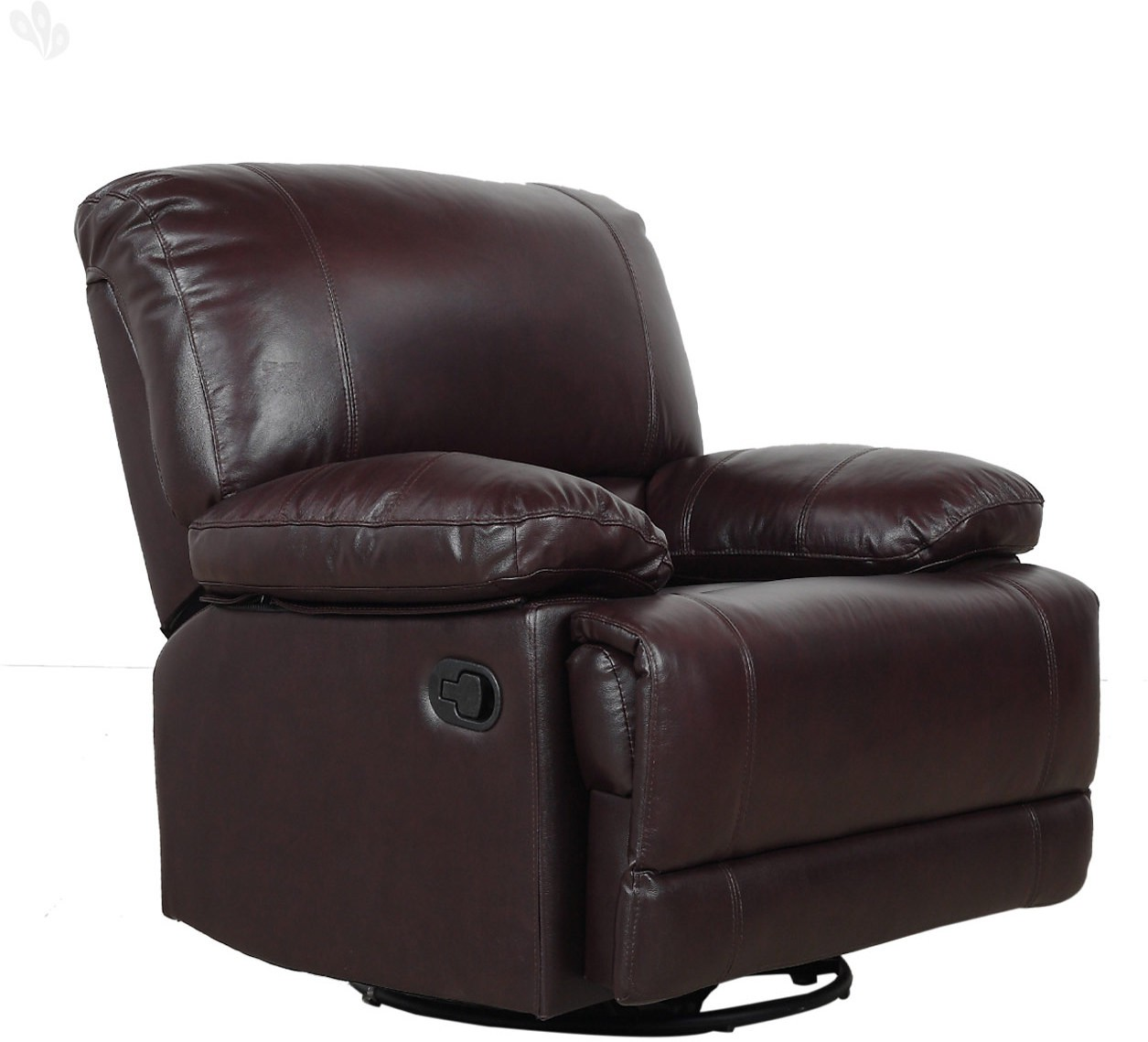 Royal Oak Jersey Leather Manual Rocker Recliners