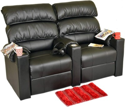Recliners India Leatherette Powered Recliners(Finish Color - Black)