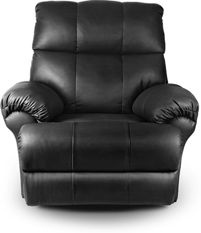 Little Nap Recliners Leatherette Manual Recliners(Finish Color - Black)