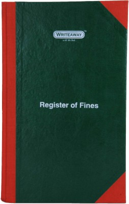 Writeaway Bsc00652 Reg-52 1-Part Register Of Fines