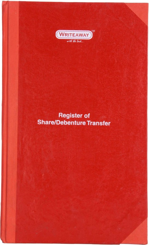 Writeaway Bsc00617 Reg-17 1-Part Register Of Share/Debenture Transfer(96 Sets, Share/Debenture Transfer)
