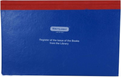 Writeaway Bsc00628 Reg-28 1-Part Register of The Issue of The Books From The Library