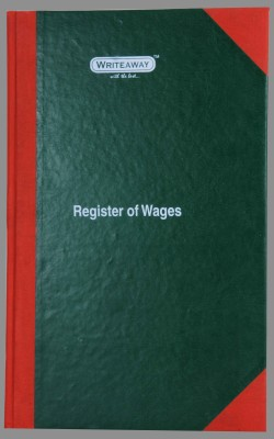 Writeaway BSC00646 REG-46 1-Part Register Of Wages