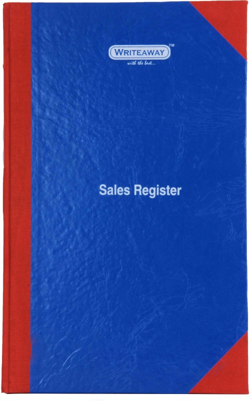 Writeaway BSC00637 REG-37 1-Part Sales Register(1 Sets, Sales)