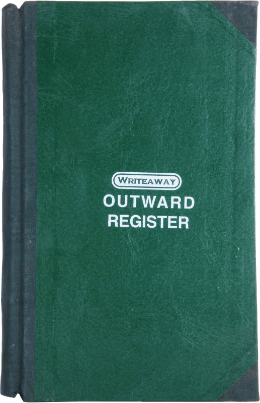 Writeaway BSC00615 REG-44 1-Part Outwars Register(1 Sets, Outward)
