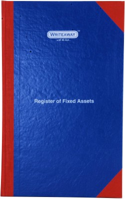 Writeaway BSC00625 REG-25 1-Part Register Of Fixed Assets