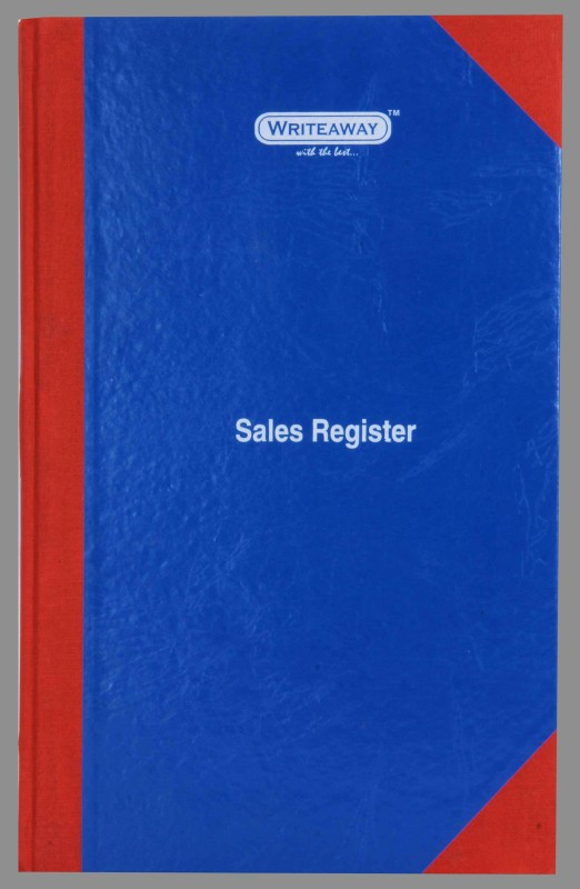 Writeaway BSC00632 REG-32 1-Part Sales Register(1 Sets, Sales)