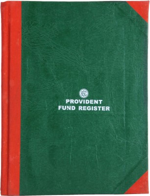 Writeaway BSC00666 REG-66 1-Part Provident Fund Register