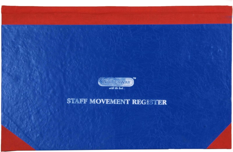 Writeaway BSC00638 REG-38 1-Part Staff Movement Register(1 Sets, Staff Movement)