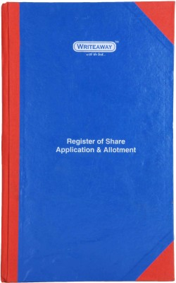 Writeaway BSC00606 REG-6 1-Part Register Of Share Application & Allotment