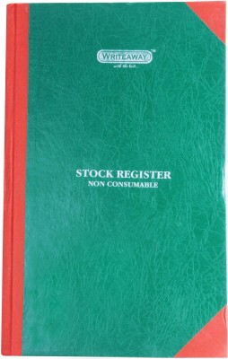 Writeaway BSC00639 REG-39 1-Part Stock Register