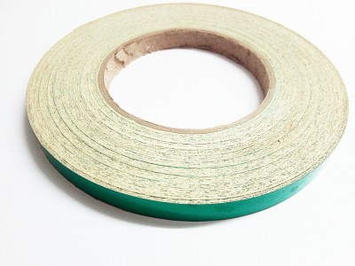 laps of luxury GD336 12.7 mm x 3.65 m Green Reflective Tape(Pack of 1)