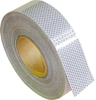 Tufkote High Intensity Conspicuity 25.4 mm x 10 m White Reflective Tape