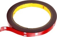 Auto Hub 3M Double Side or Sided Adhesive For Super Stronger Bonding 12 mm x 4 m Red Reflective Tape