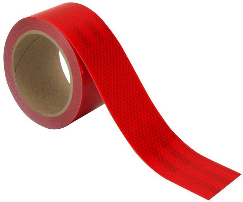 3M High Intensity Conspicuity 50.8 mm x 0.6096 m Red Reflective Tape(Pack of 1)