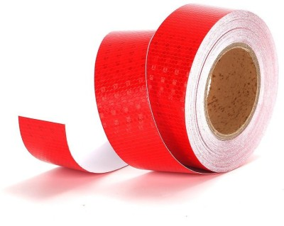 Laps of Luxury GD079 50.8 mm x 45.72 m Red Reflective Tape(Pack of 1)
