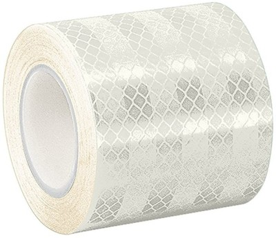 Laps of Luxury GD078 50.8 mm x 45.72 m White Reflective Tape(Pack of 1)