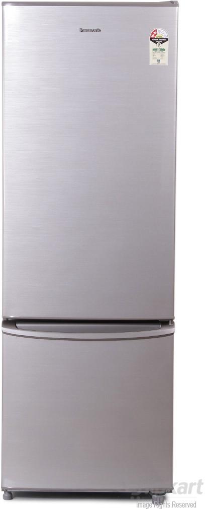 View Panasonic NR-BU343SNX4 342 L Double Door Refrigerator Price Online(Panasonic)