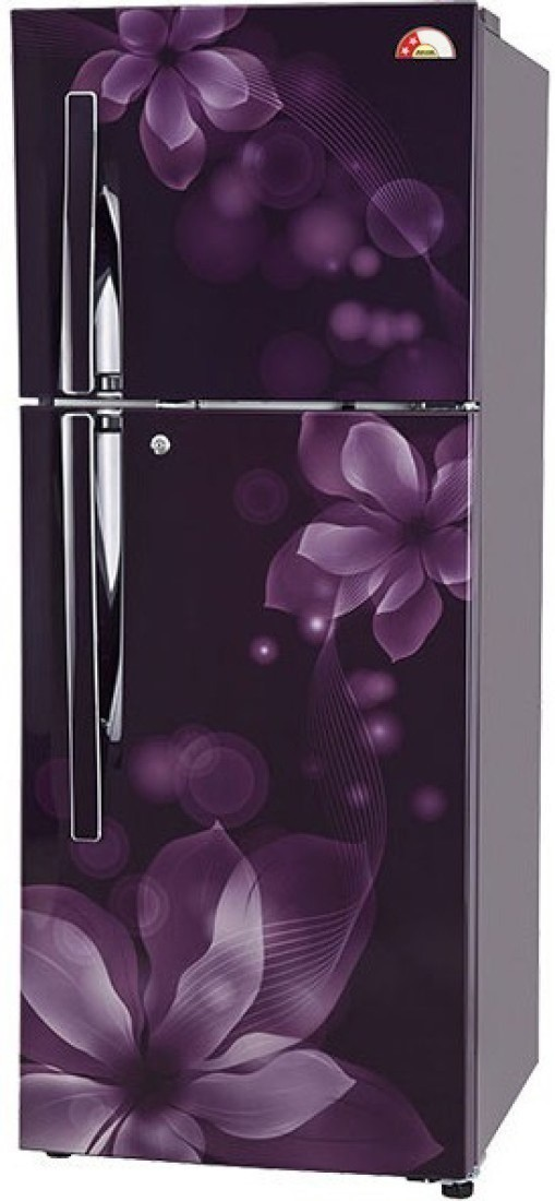 LG 260 L Frost Free Double Door Refrigerator(GL-T292RPOY, Purple Orchid, 2017) (LG)  Buy Online