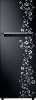 SAMSUNG 275 L Frost Free Double Door Refrigerator(RT29JARMABX/TL, Orcherry Pearl Black)