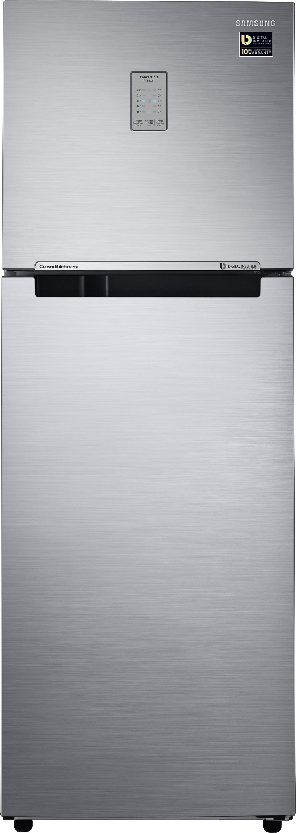 SAMSUNG 321 L Frost Free Double Door Refrigerator(RT34M3723S8/HL, Elegant Inox, 2017) (Samsung) Tamil Nadu Buy Online