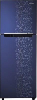 SAMSUNG 253 L Frost Free Double Door Refrigerator(RT28K3022VJ, Royal Tendrill Violet)