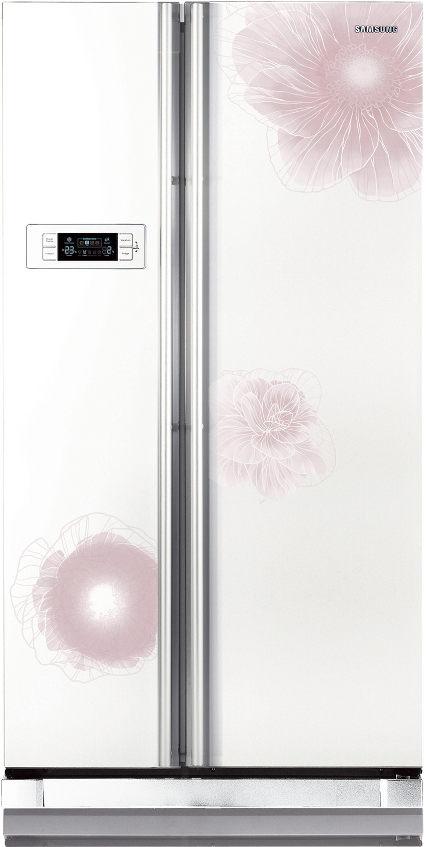 View Samsung RS21HSTWA1/XT 600 L Side by Side Refrigerator  Price Online
