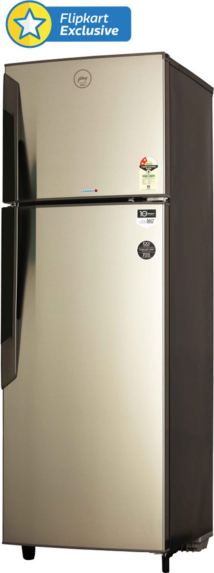 View Godrej RT EON 330 P 2.3 330 L Double Door Refrigerator  Price Online