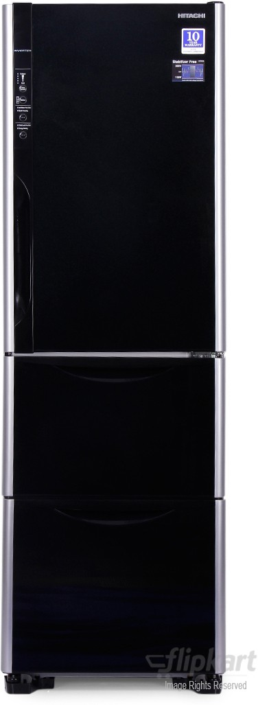 View Hitachi 390 L Frost Free Triple Door Refrigerator  Price Online