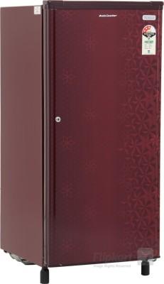 Kelvinator 190 L Direct Cool Single Door Refrigerator(KW203EFYR/G, Geometry Red, 2016)
