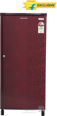 Kelvinator 190 L Direct Cool Single Door Refrigerator(KW203EFYR/G, Geometry Red)