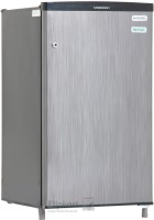 Videocon 80 L Direct Cool Single Door Refrigerator(VC090P, Silver Hairline)