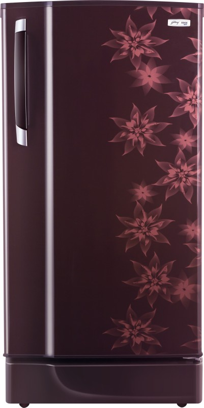 Godrej 185 L Direct Cool Single Door Refrigerator(RD Edge 185CHTM, Berry Bloom)
