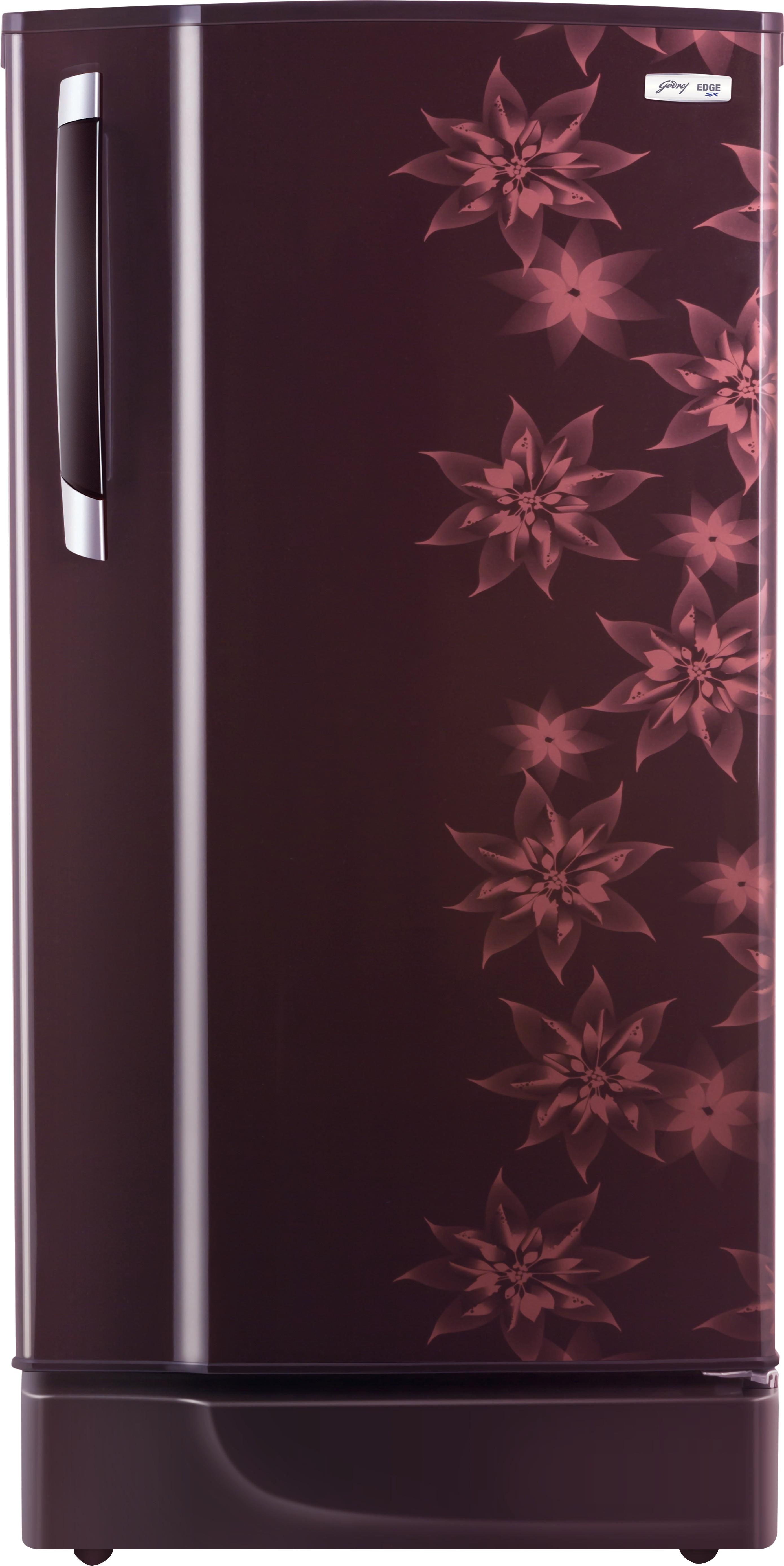 Godrej 185 L Direct Cool Single Door Refrigerator(RD Edge 185CHTM, Berry Bloom)