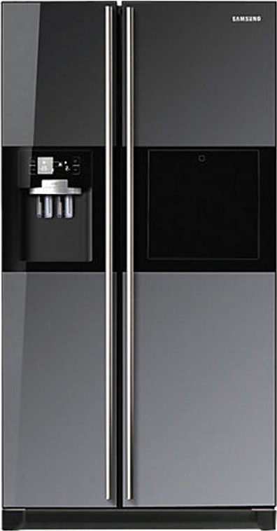 View Samsung RS21HZLMR1/XT 585 L Side by Side Refrigerator  Price Online