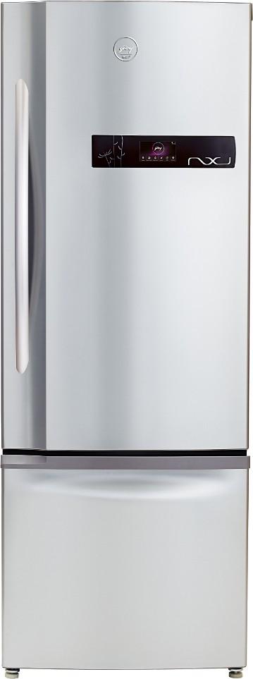 Godrej 405 L Frost Free Double Door Refrigerator(RB EON NXW 405 ZD, Platina, 2016)   Refrigerator  (Godrej)