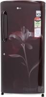 LG 215 L Direct Cool Single Door Refrigerator(GL-B221ASLS, Scarlet Lily, 2016)