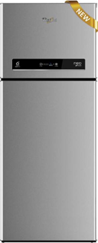 View Whirlpool 292 L Frost Free Double Door Refrigerator(NEO IF305 ELT ALPHA STEEL (3S), Alpha Steel, 2017)  Price Online