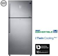 SAMSUNG 551 L Frost Free Double Door Refrigerator(RT56K6378SL, Easy Clean Steel)