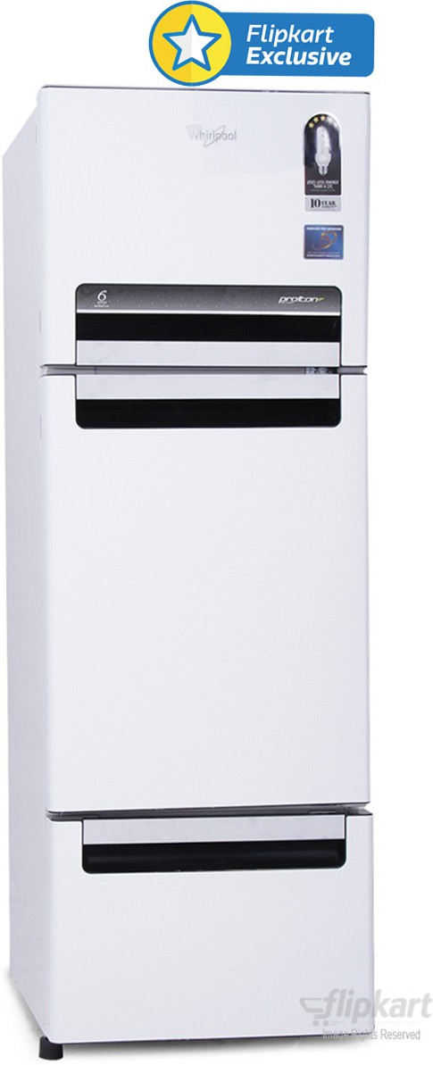 View Whirlpool FP 263D PROTTON ROY 240 L Triple Door Refrigerator  Price Online
