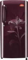 LG 190 L Direct Cool Single Door Refrigerator(GL-B201ASLN, Scarlet Lily, 2016)