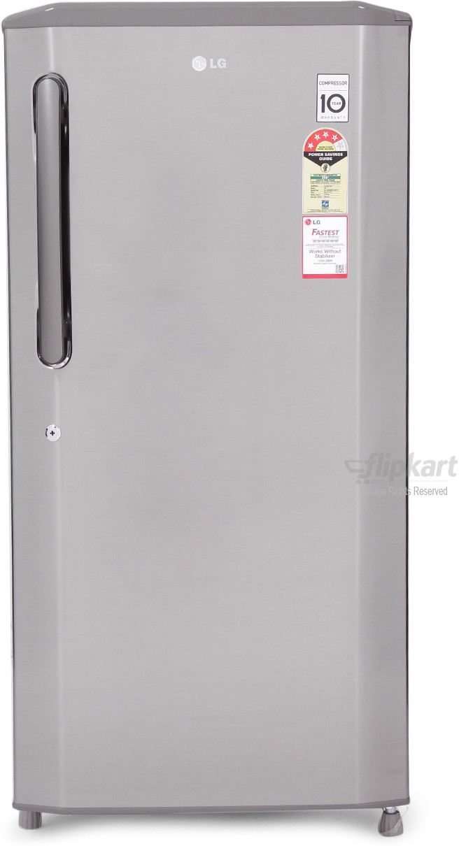 View LG GL-B225BPZL 215 L Single Door Refrigerator  Price Online