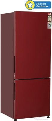 Haier HRB-3403BR-H 320 L French Door Bottom Mount Refrigerator (Brushline Red)