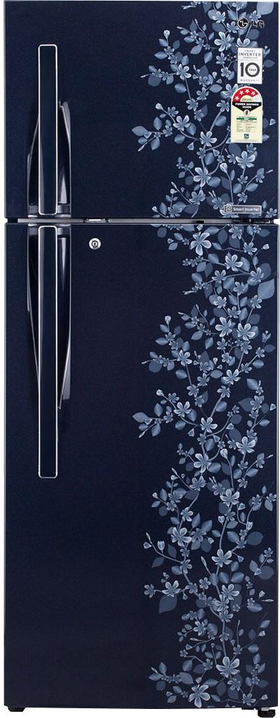 LG GL-M322RMPL 310 L Double Door Refrigerator   Refrigerator  (LG)